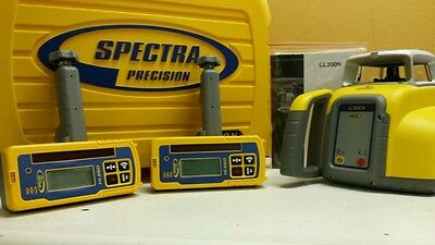 Trimble Spectra Precision LL300N Level W/ ((2)) HL450 RECEIVER