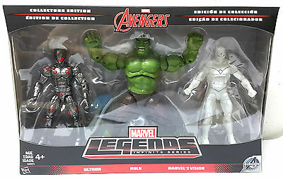 Marvel Legends Infinite Series Avengers Collectors Edition Ultron Hulk Vision