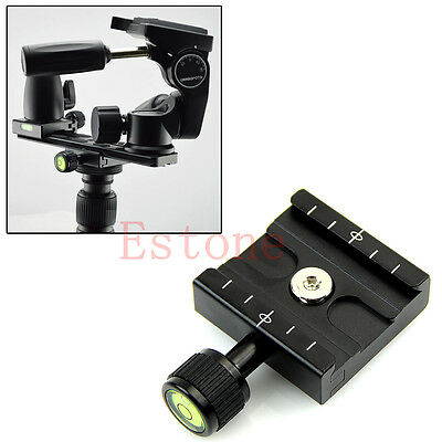 Osrso Clamp For QR50 Quick Release Plate Compatible Arca Swiss Tripod Ball Head