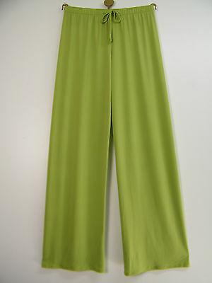 12 14 16 18 20 22 SALOOS STRETCHY TROUSERS WITH A DIAMANTE BUCKLE IN 2 COLOURS