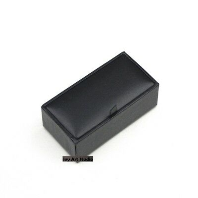 NEW Professional Black Cufflinks Gift Box
