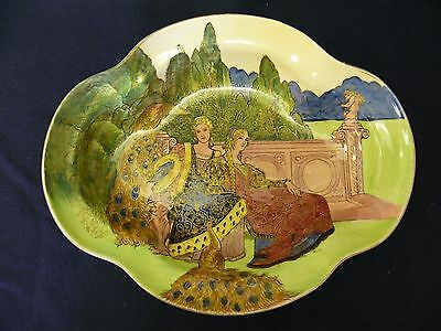 """Extremely Rare Royal Doulton """"CHIVALRY"""" Series Ware Bowl D 5030"""