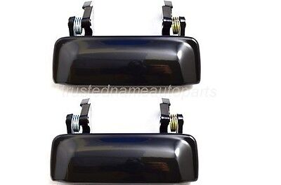 fits Ford Ranger Outside Exterior Door Handle Left Right Smooth Metal Legs Set