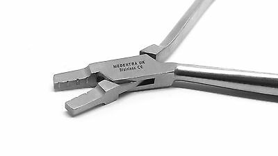 Lingual Arch Forming Plier Orthodontic Wire Bending Dental Instrument Lab CE