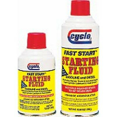 Cyclo Industries C-100 Fast Starting Fluid 10.7 oz 12 pk