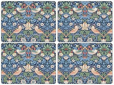 Pimpernel Morris and Co. Strawberry Thief Placement Set of 4