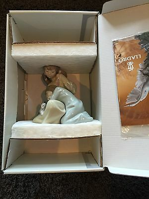 "Lladro Figurine ""Little Sister"" #1534 NEW in box"
