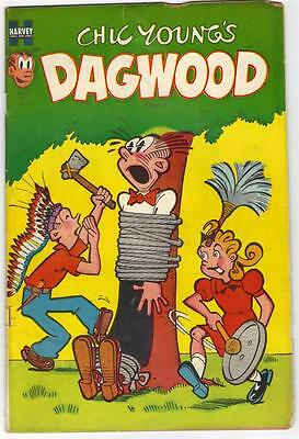 Chick Young's DAGWOOD #35 - OCT. 1953 (HARVEY)  G/VG (3.0)