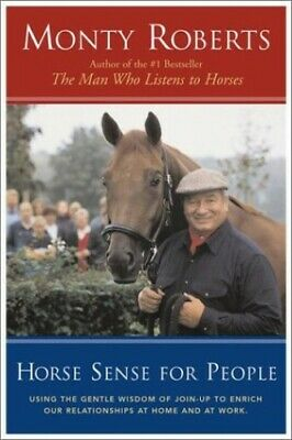 Horse Sense For People by Roberts, Monte Book The Cheap Fast Free Post
