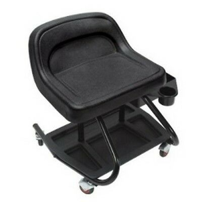 Whiteside HS07 Heavy Duty Molded Creeper Seat, with Steel Frame & Storage Tray
