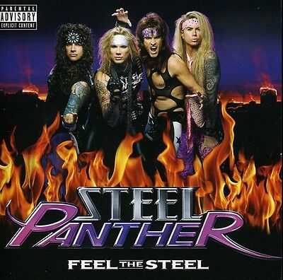 Steel Panther - Feel the Steel [New CD]