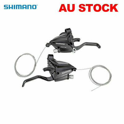 SHIMANO EF500-7 3x7S Brake Shifter Set Brake Levers & Shift Levers For Bike