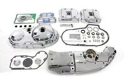 Sportster/XL 1991-1993 Chrome engine dress up kit, primary cover, rocker Covers
