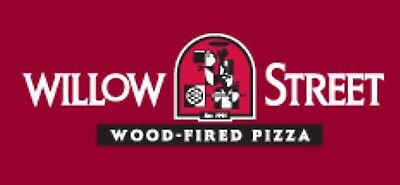Willow Street Pizza $50 Gift Card