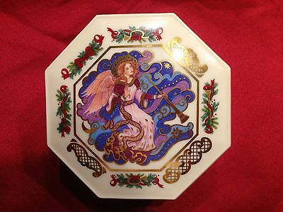 1993 Pfaltzgraff Music Box Collections 1st Issue It Came Upon The Midnight Clear