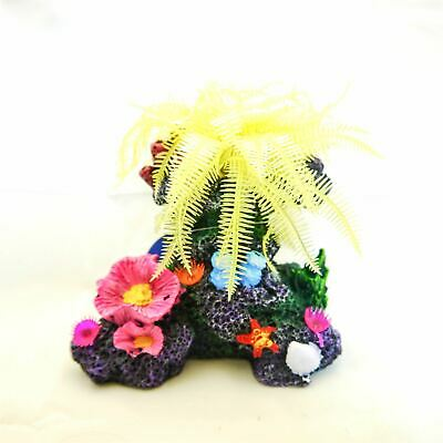 Realistic Aquarium Ornament Fish Tank Decoration Tropical Marine Coral Polyp