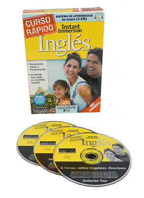 Learn how to Speak English INGLES Language (3 Audio CDs) listen in your car