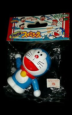 """Doraemon White Knob Wind Up Toy New in Package 2.25"""" ~ Ray Rohr Cosmic Artifacts"""