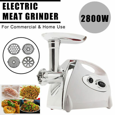 Multifuntion 5In1 Electric Pro Meat Grinder–Electric Meat Mincer–&Sausage Maker