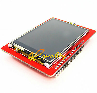 "1PCS 2.4"" TFT LCD Shield Touch Panel Module TF Micro SD For Arduino UNO R3"