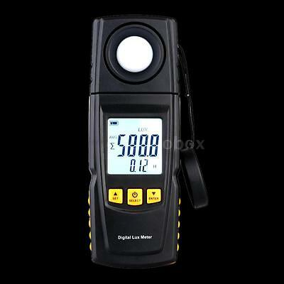 GM1020 High Accurate 200000 Lux Digital Light Meter Tester Photometer Luxmeter