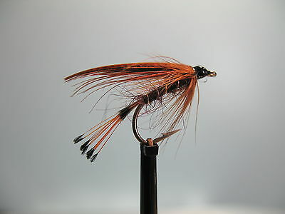 3 x KE HE WET TROUT FLIES sizes10,12,14  available FROM MGT TACKLE
