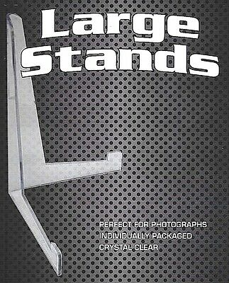 10 Large Stands for Comic - Menu - Photo and up to 8 1/2 X 11 Toploader Stand