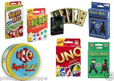 Card Game Uno Skip Bo Dutch Blitz Rook Blink Phase 10 Life