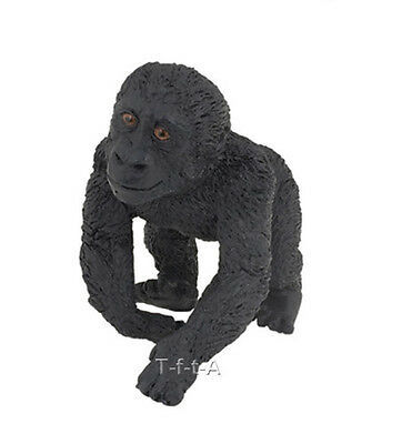 FREE SHIPPING | Papo 50109 Gorilla Baby Wild Animal Figurine - New in Package