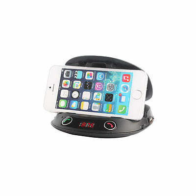 BSR Car Handsfree Bluetooth Speaker/FM Transmitter/Holder for Android/iPhone