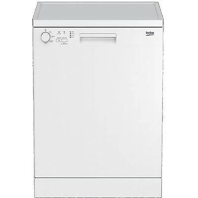 Beko DFC04210W A+ Full Size 12 Place 4 Programmes Dishwasher in White