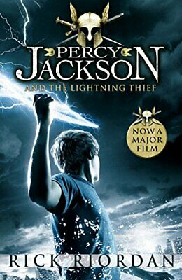 Percy Jackson and the Lightning Thief by Riordan, Rick Paperback Book The Cheap