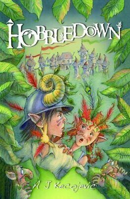 Hobbledown by A.J.  Kecojevic Book The Cheap Fast Free Post