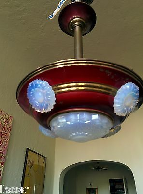 Antique Art Deco French Bistro Light