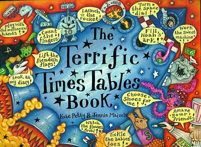 The Terrific Times Tables Book, Petty, Kate Hardback Book The Cheap Fast Free