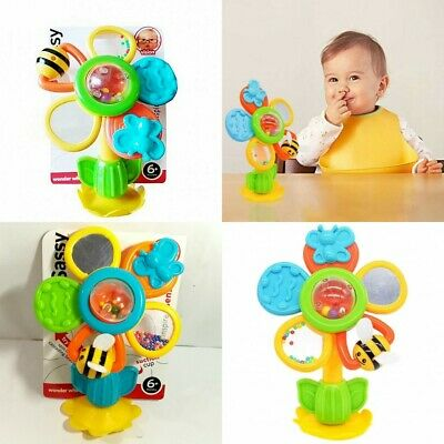 16cm/6in Sassy Baby Kids Children Teether Rattle Jingle Clanking Loopy Soft Toy