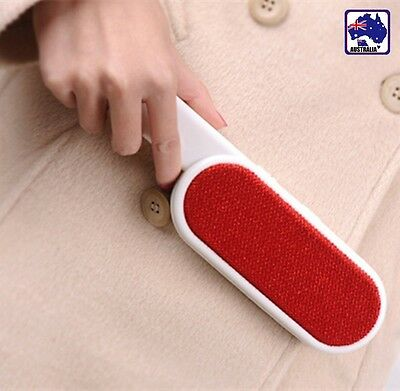 Lint Remover Double-sided Brush Pet Hair Dandruff Remover Upholstery PBRUS 0301