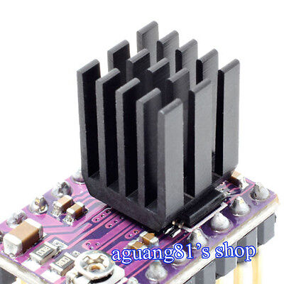 5pcs 9x9x12mm Heat Sink for 3D Printer Ramps DRV8825 A4988 Stepper Motor Driver