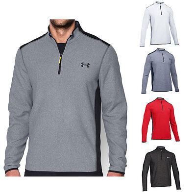 Under Armour 2016 Mens UA ColdGear Infrared Survival Fleece 1/4 Zip Pullover Top