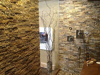 Real Stone Split Face Tiles Veneer Ledgestone Ledge- EcoGranite Recycled Granite