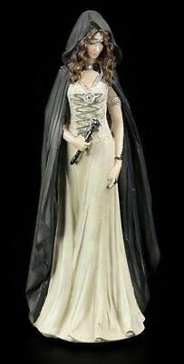 Hexen Figur - Enchantress of Light - Witch Fantasy Gothic Halloween Deko