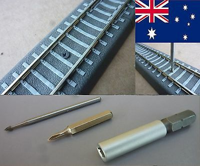 SCREWS for TILLIG Bedding TRACKS SCALE TT + SPECIAL TOOLS - POSTAGE-FREE (AUS)