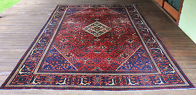 Fabulous Genuine Antique Room Size Djoshaghan Pile Rug C1920