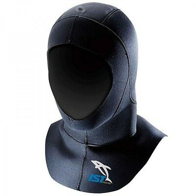 3mm Neoprene Nylon Outer & Lining Spearfishing Snorkel Dive Vented Wetsuit Hood