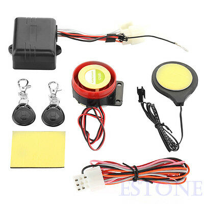 Hot Bike Motorcycle IC Card Alarm Induction Invisible Lock Immobilizer System SG