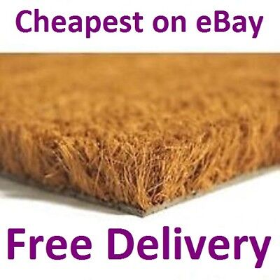 Heavy Duty Natural Coconut COIR Foyer Lobby Reception Entrance Door Mat Matting