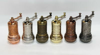 Turkish Pepper Salt Grinder Coffee Spice Grinder Mill 4.3 inch