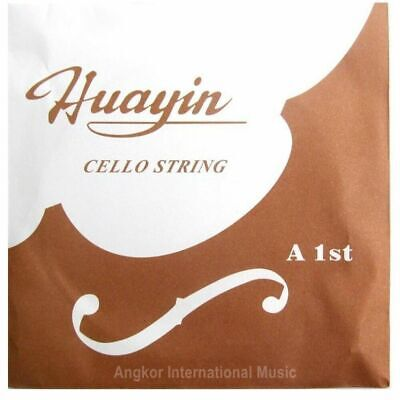 Huayin Student Cello Strings Fits 1/4 and 1/2 Size Cello Full Set  C,G,D,A