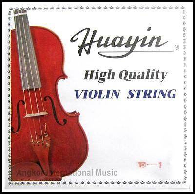 Huayin High Quality  Silver wound violin strings 4/4 Size Full Set G,D,A,E