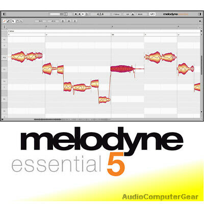 Celemony MELODYNE ESSENTIAL 4 Pitch Correction Audio Software Plugin NEW